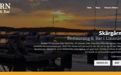 Kundcase: Restaurang Skärgården i Linanäs