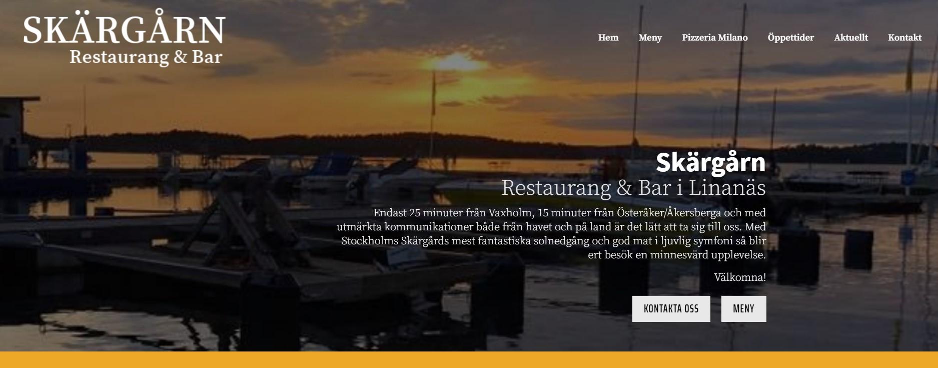 Bild: Restaurang Skärgården i Linanäs