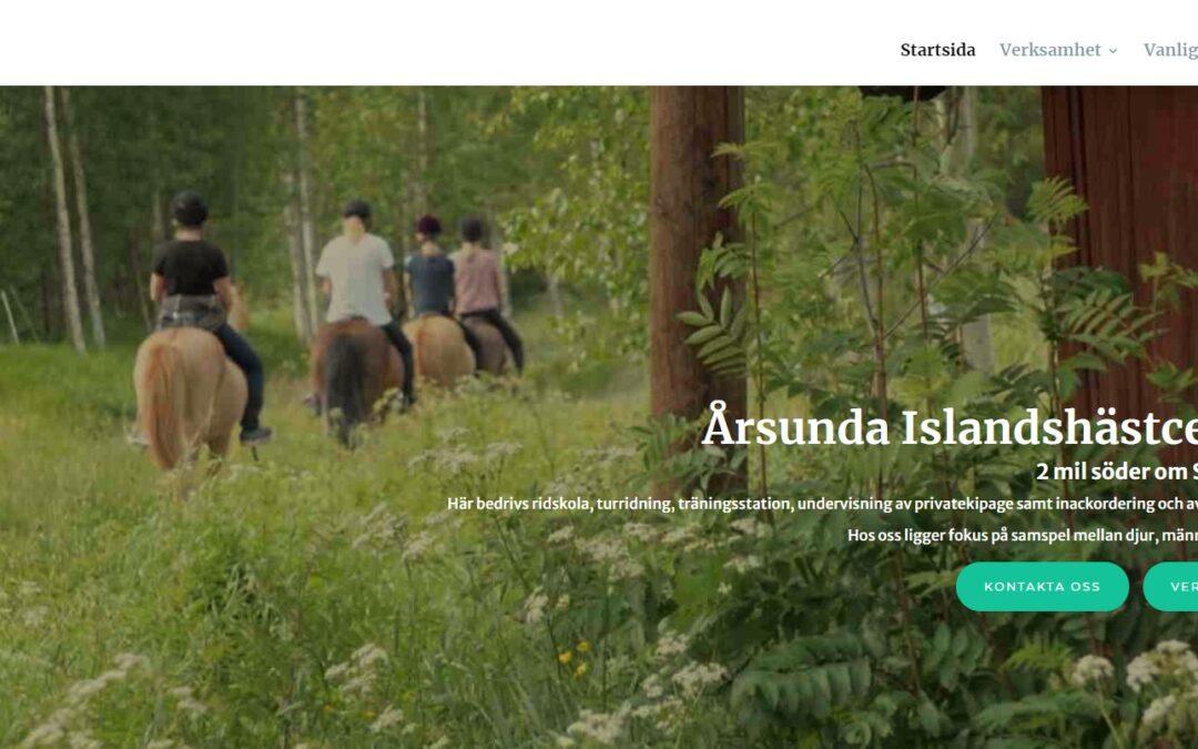 Kundcase: Årsunda Islandshästcenter