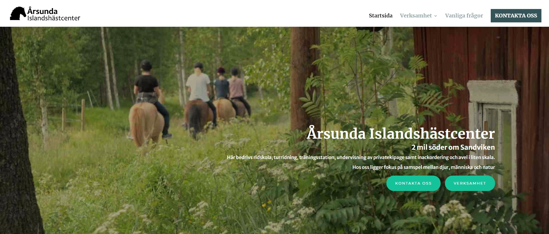 Bild: Årsunda Islandshästcenter
