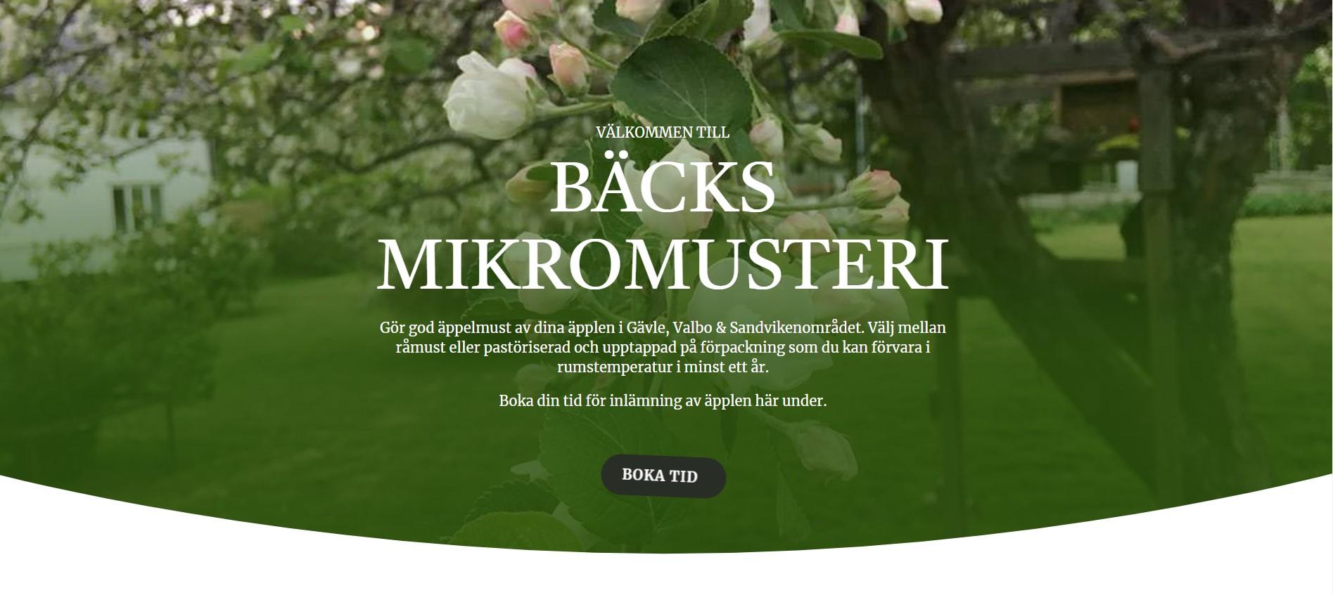 Bild: Bäcks Mikromusteri