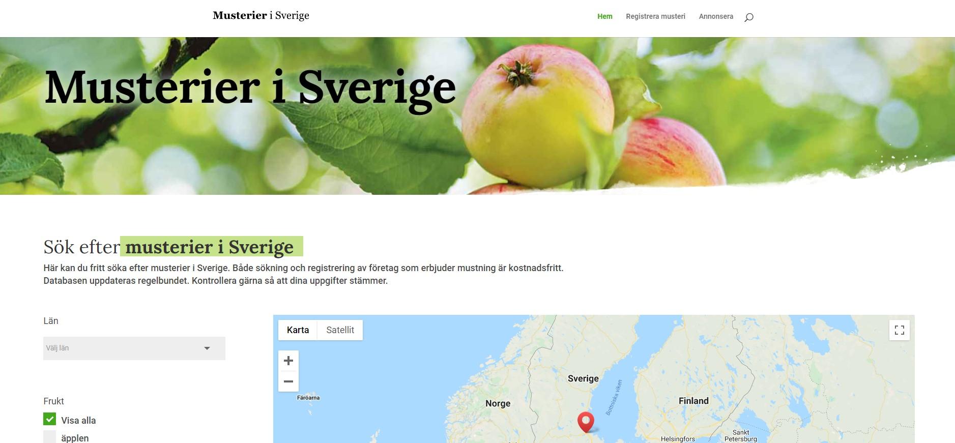 Bild: Musterier i Sverige